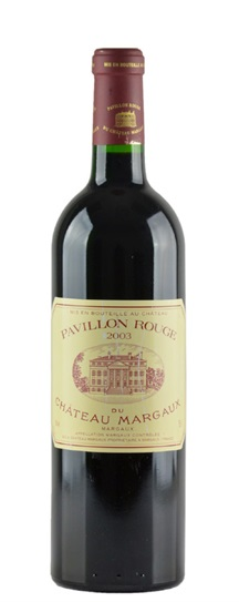 2003 Margaux, Pavillon Rouge du Chateau Bordeaux Blend
