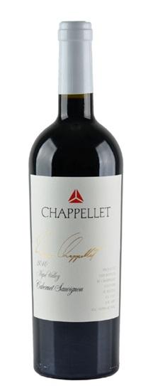 2010 Chappellet Cabernet Sauvignon Signature Napa