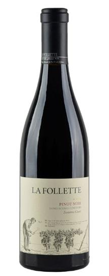 2009 Follette, La Pinot Noir Sangiacomo Vineyard