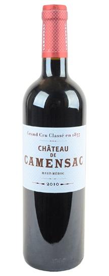 2010 Camensac Bordeaux Blend