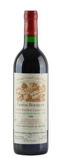 1989 Beausejour, Chateau Bordeaux Blend