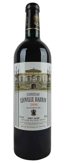 1998 Leoville-Barton Bordeaux Blend