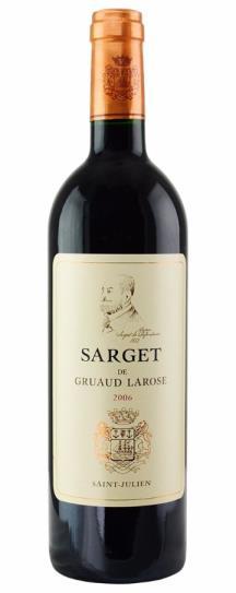 2006 Sarget de Gruaud Larose Bordeaux Blend