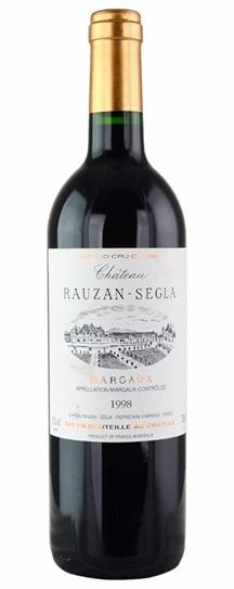 1998 Rauzan-Segla (Rausan-Segla) Bordeaux Blend
