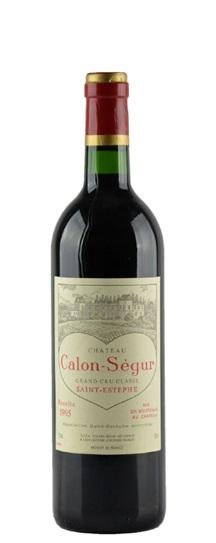 1995 Calon Segur Bordeaux Blend