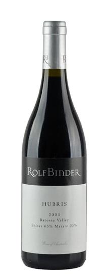 2005 Binder Wines, Rolf Shiraz / Mataro Hubris