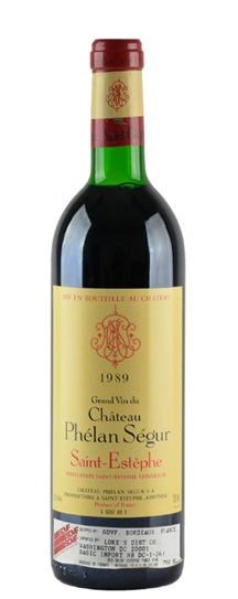 1989 Phelan-Segur Bordeaux Blend