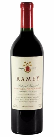 2009 Ramey Pedregal Proprietary Red