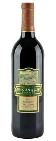 2005 Kunde Estate Cabernet Sauvignon
