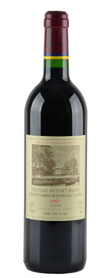 2001 Duhart-Milon-Rothschild Bordeaux Blend