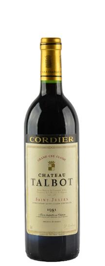 1981 Talbot Bordeaux Blend