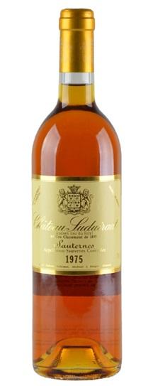 1975 Chateau Suduiraut Sauternes Blend