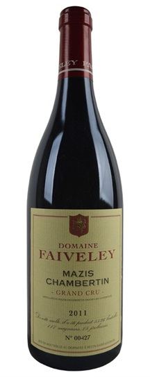 2011 Faiveley Mazis Chambertin Grand Cru