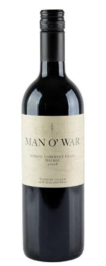 2008 Man O' War Merlot Cabernet
