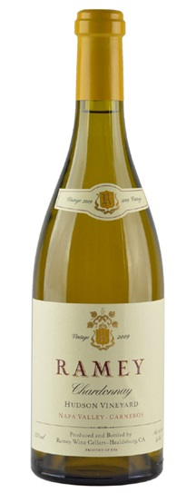 2009 Ramey Chardonnay Hudson Vineyard