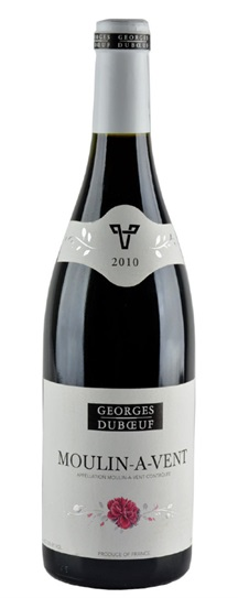 2010 Georges Duboeuf Moulin a Vent Flower Label