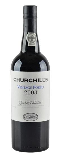 2003 Churchill's Vintage Porto