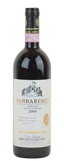 2009 Giacosa, Bruno Barbaresco Santo Stefano Di Neive