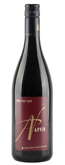2008 A.P. Vin Pinot Noir Clos Pepe Vineyard