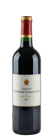 2009 Capbern-Gasqueton Bordeaux Blend