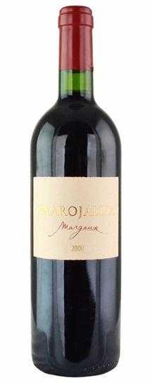 1999 Marojallia Bordeaux Blend