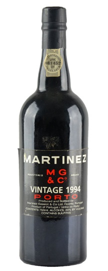 1985 Martinez Vintage Port