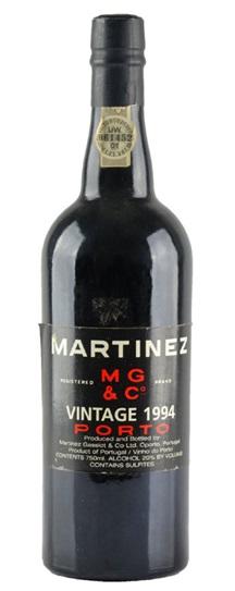 1985 Martinez Vintage Port