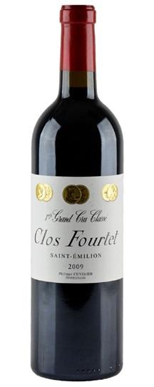 2009 Clos Fourtet Bordeaux Blend