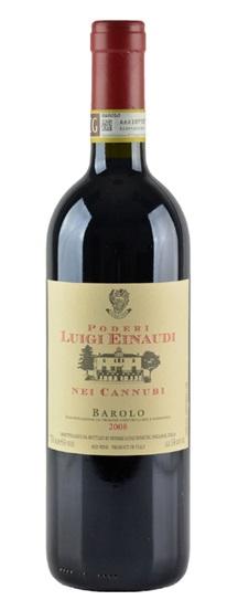 2008 Einaudi, Luigi Barolo Cannubi