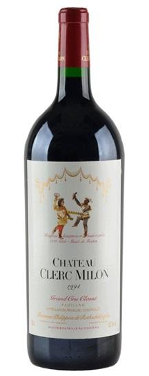 1994 Clerc Milon Bordeaux Blend