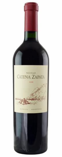 2008 Bodegas Catena Zapata Cabernet Sauvignon Nicolas Catena Zapata