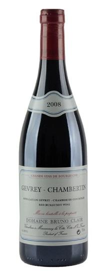 2008 Bruno Clair Gevrey Chambertin