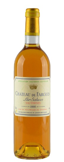 1995 Chateau de Fargues Sauternes Blend