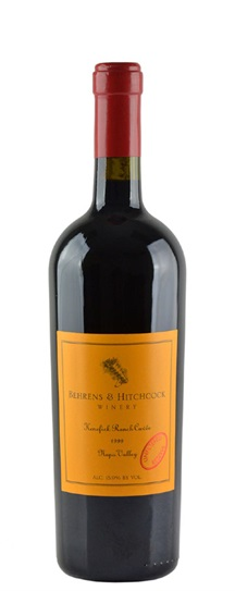 1999 Behrens and Hitchcock Kenefick Cuvee Unfiltered Reserve Proprietary Red