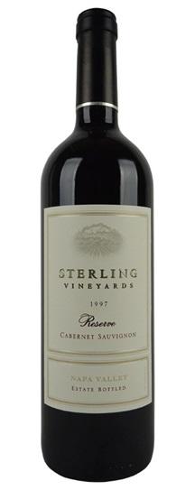 1999 Sterling Cabernet Sauvignon Reserve