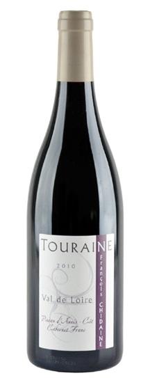 2010 Chidaine, Francois Touraine Rouge