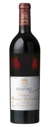 2009 Mouton-Rothschild Bordeaux Blend
