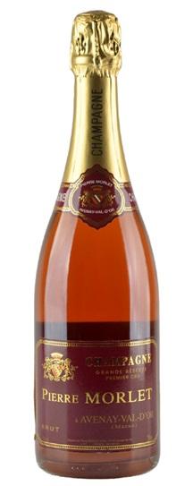 Pierre Morlet Champagne Brut Grande Reserve Rose Avenay Val D'or