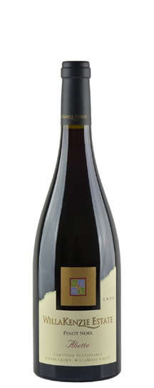 2010 Willakenzie Estate Pinot Noir Aliette
