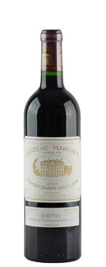 2003 Margaux, Chateau Bordeaux Blend