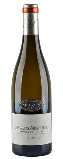2008 Domaine Vincent & Sophie Morey Chassagne-Montrachet Morgeot 1er Cru
