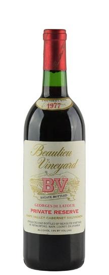 1988 Beaulieu Cabernet Sauvignon Private Reserve Georges de Latour