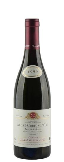 1999 Mallard, Domaine Michel Aloxe Corton 1er Cru Les Valozieres