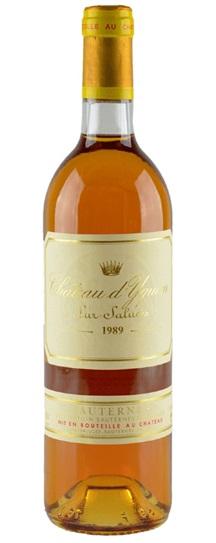 1989 Chateau d'Yquem Sauternes Blend