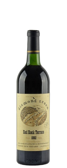 1982 Diamond Creek Cabernet Sauvignon Red Rock Terrace