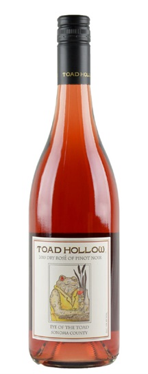 2010 Toad Hollow Pinot Noir Rose  Eye of the Toad Rose