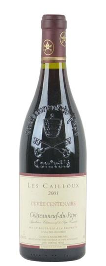 1998 Cailloux (Lucien et Andre Brunel), Les Chateauneuf du Pape Cuvee Centenaire