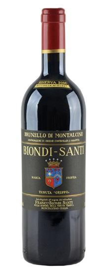 2006 Biondi Santi Brunello di Montalcino Riserva