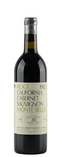 1980 Ridge Monte Bello