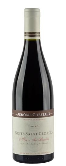2010 Chezeaux, Jerome Nuits St Georges Aux Boudots